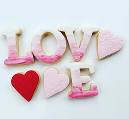 A Touch Of Love Cookies