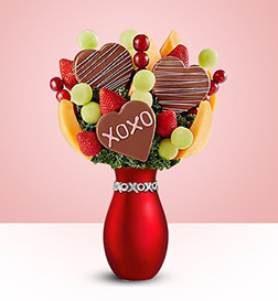 XOXO Fruit Bouquet