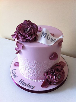 Lavender Love Mother's Day Cake