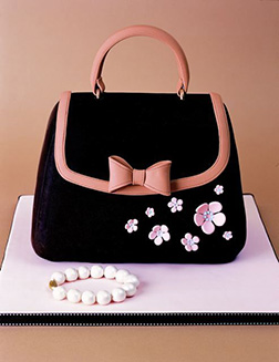 Bags and Pearls Cake