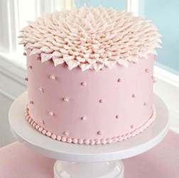 Crown Of Petals Cake