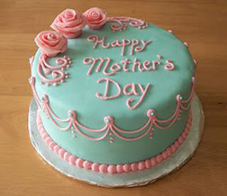 Tiffany Blue Mother's Day Cake