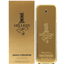 One Million for Men EDT 100ML by Paco Rabanne