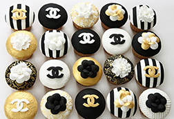 Divine Chanel Cupcakes