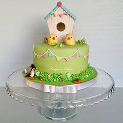 Chick's Easter Party Cake
