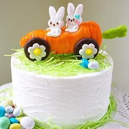 Easter Bunny Adventure Cake