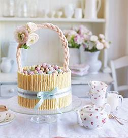 Basket of Easter Joy cake