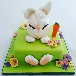 Bunny's Sunny Day cake