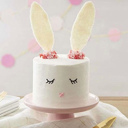 Delighted Bunny Easter Cake