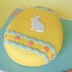 Classic Easter Egg Cake