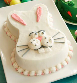 Lucky Rabbit Easter Cake