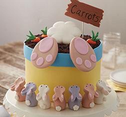 Carrot Thief Easter Cake