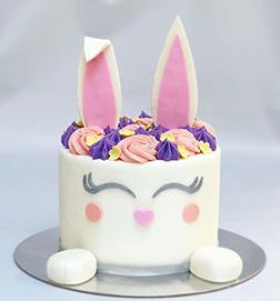 Designer Bunny Ear Cake
