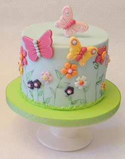 Spring in the Air Cake