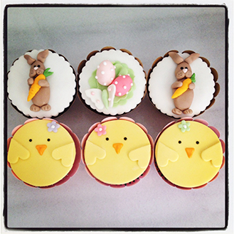 Easter Day Out Cupcakes