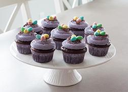Choco Egg Nest Cupcakes
