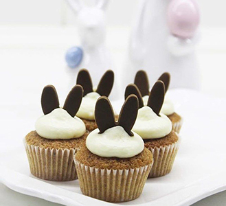 Choco Bunny Cupcakes