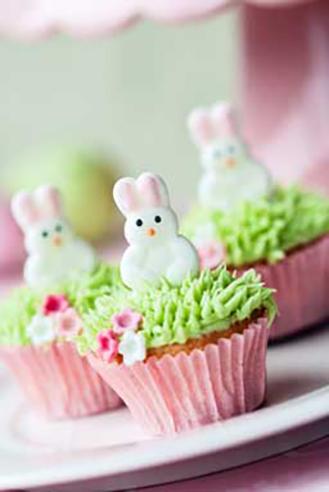 Bouncy Bunny Cupcakes