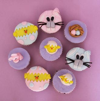 Easter Joy Cupcakes