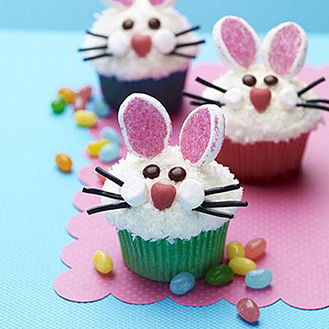Frosty Bunnies Cupcakes