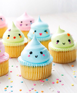 Easter Kisses Cupcakes