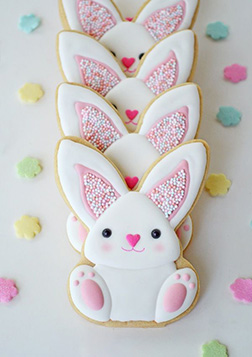 Adorable Bunny Easter Cookies