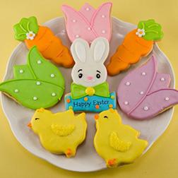 Bunny's Tea Party Cookies