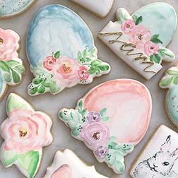Victorian Easter Cookies
