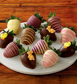 Happy Bunny Dipped Strawberries