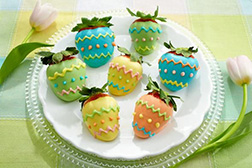 Easter Party Dipped Strawberries