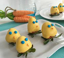 Easter Eggs Dipped Strawberries