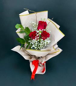 Ravishing Red Roses Bouquet