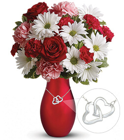 Two Hearts One Love Bouquet