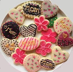 Assorted Mother's Day Cookies