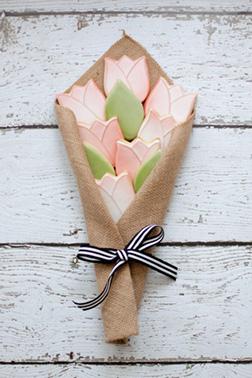 Bouquet Of Flowers Cookies