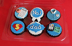Our Hero Father's Day Cupcakes