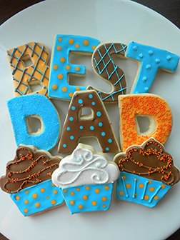 Charming Father's Day Cookies