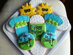 Sunny Golf Day Cookies