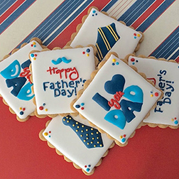 Hero Dad Cookies