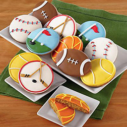 Sports Fan Father's Day Cookies