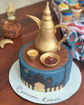 Iftar Time Ramadan Cake