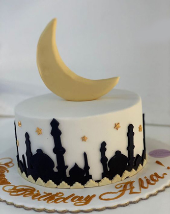 Over the Minarets Ramadan Cake