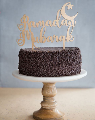 Chocolate Chips Ramadan Cake
