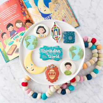 Ramadan Around the World Cookies