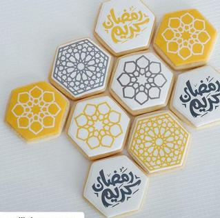 Ramadan Art Cookies