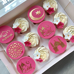 Blossoming Eid Cupcakes