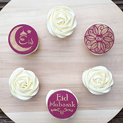 Granted Wishes Eid Cupcakes
