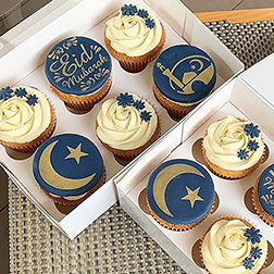 Blessings Of Eid Cupcakes
