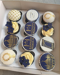 Arrive In Style Eid Cupcakes