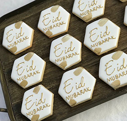 Written In Gold Eid Cookies